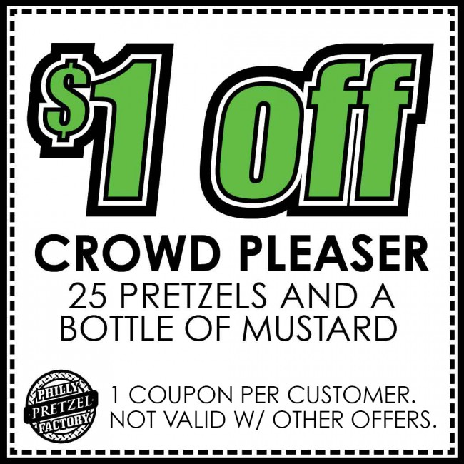 Camp hill philly pretzel factory for American frame coupon code