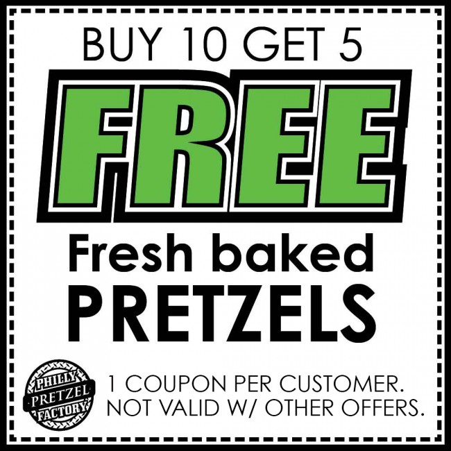 Quakertown - Philly Pretzel Factory - Philly Pretzel Factory