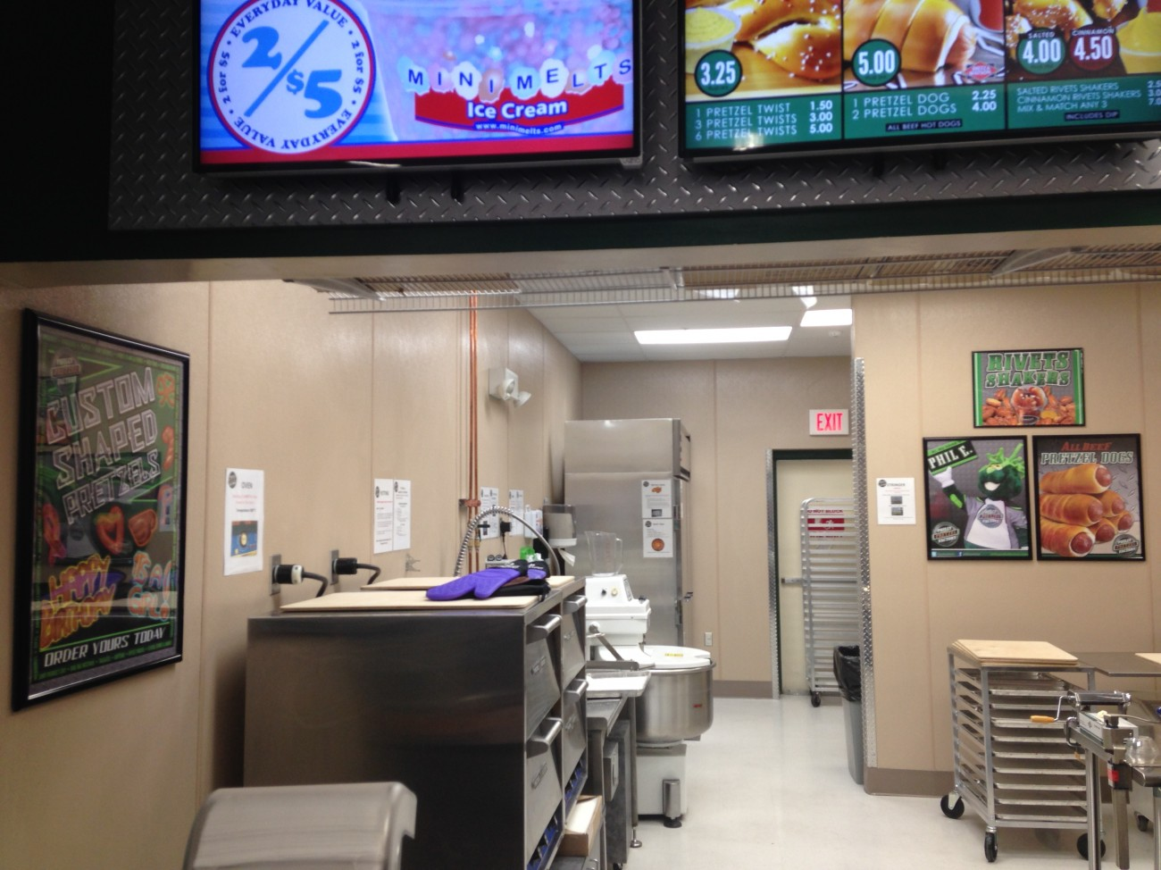 winter haven walmart philly pretzel factory philly pretzel factory