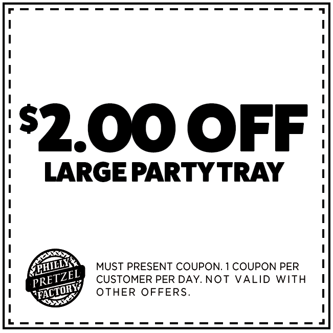 $2 Off Large Party Tray
