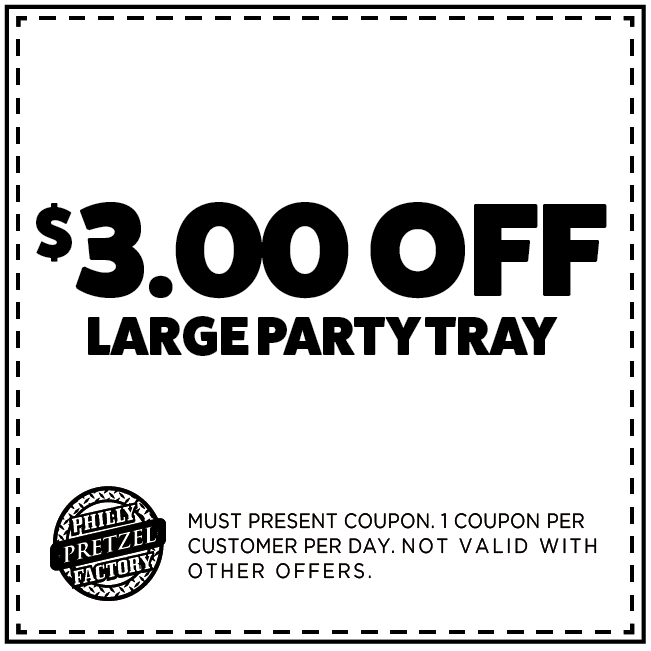 $3 Off Large Party Tray