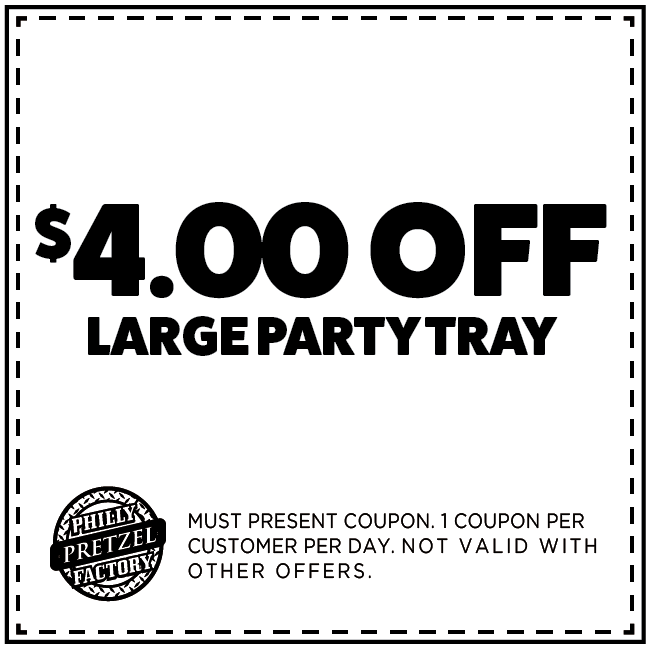 $4 Off Large Party Tray