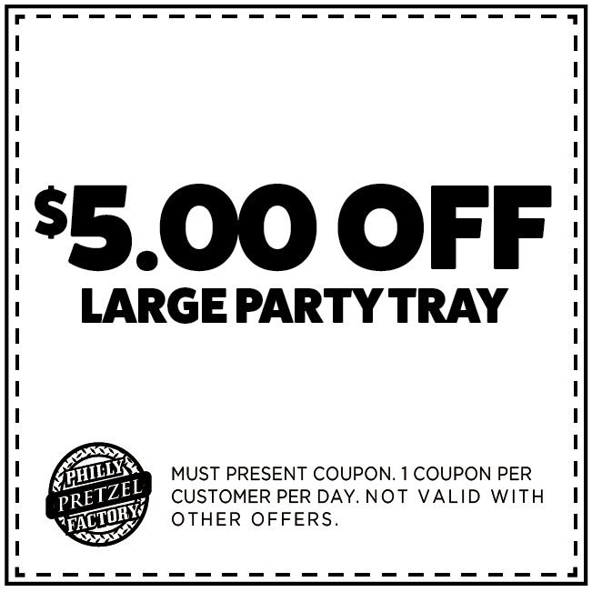 $5 off Next Large Party Tray