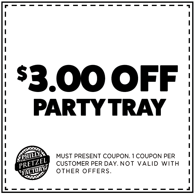 $3 Off Party Tray