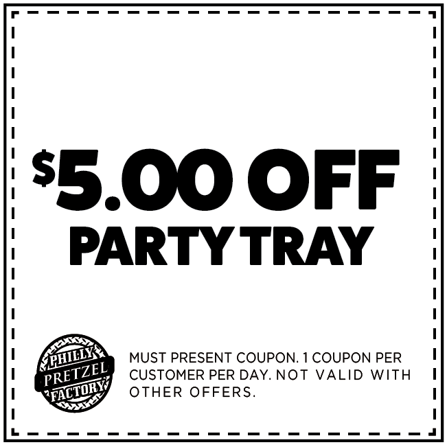 $5 Off Party Tray