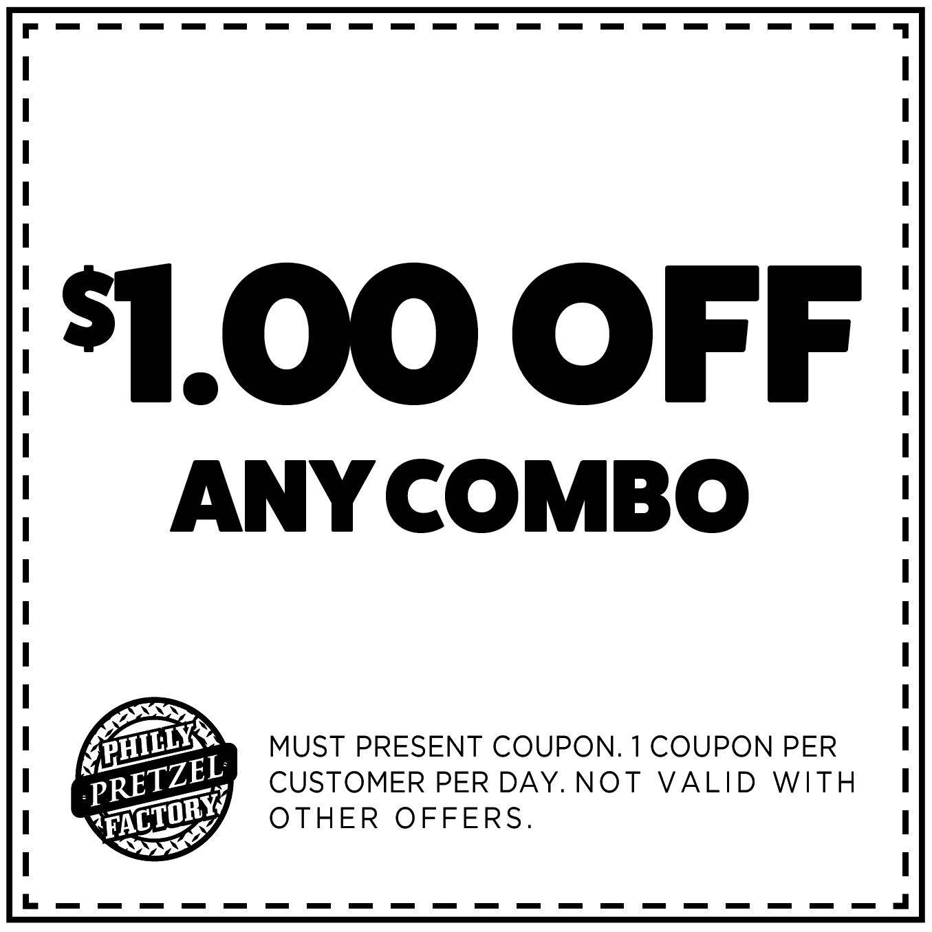$1 Off any Combo
