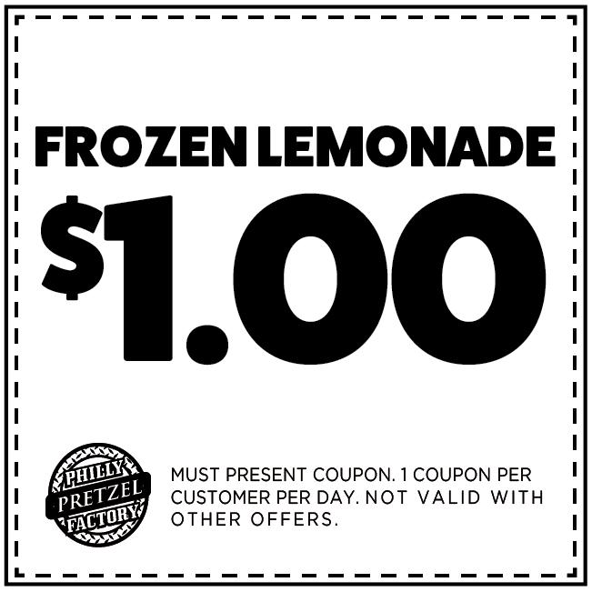 $1 Frozen Lemonade
