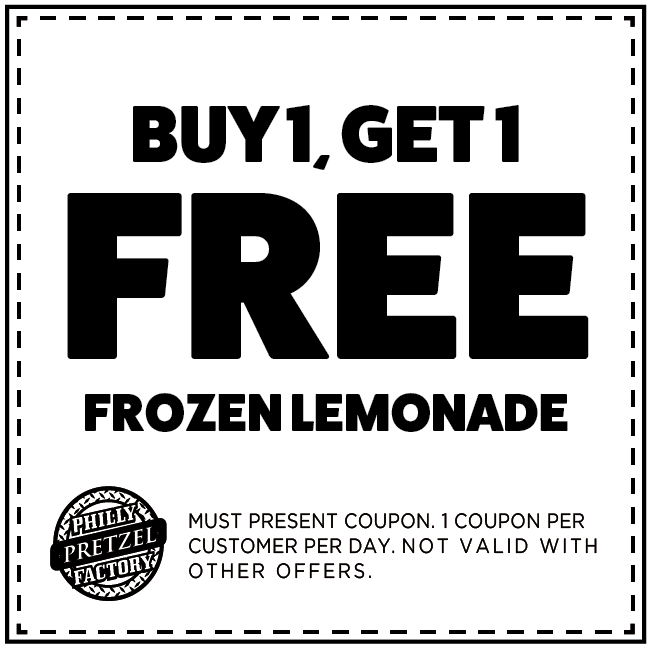 Buy 1 Get 1 Free Frozen Lemonade