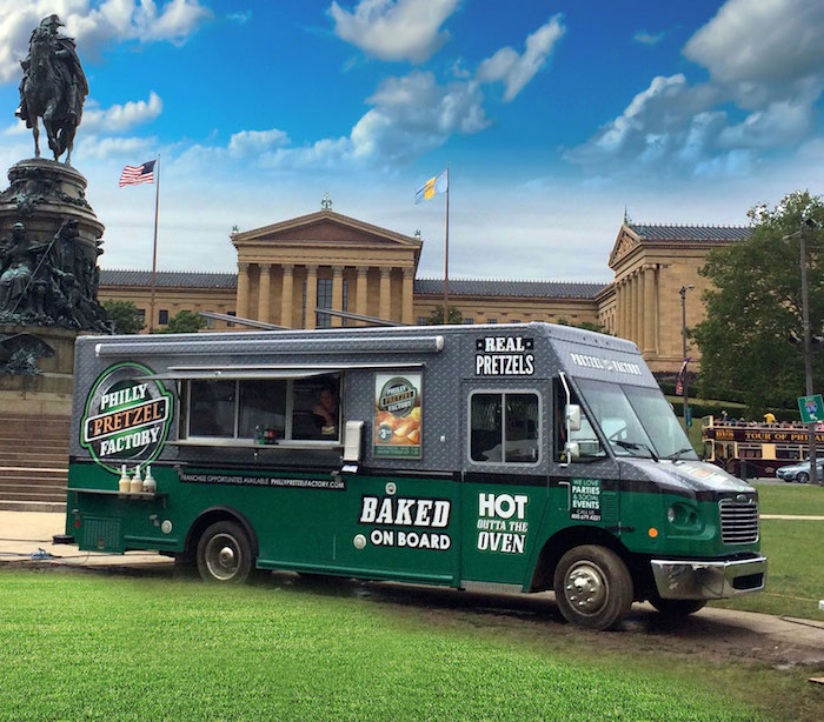 Food Truck Outside of the Art Museum