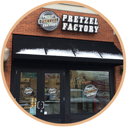 Philly Pretzel Factory Store Front